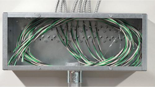 Caja de transición para aplicaciones de cableados