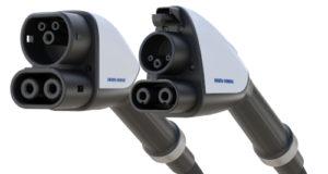 Ensamblaje para recarga de vehículos eléctricos a 500 A