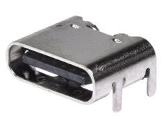 Receptáculo USB Tipo C solo para alimentación