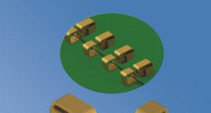 Conectores SMT para PCB de bajo perfil