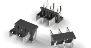 Terminales con contactos rectangulares
