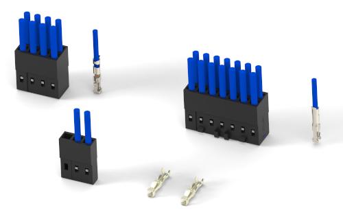 Receptáculos compactos de cable a placa