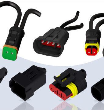 Conectores de válvula para aplicaciones de cadena margarita
