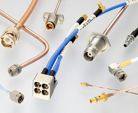 Ensamblajes de cables RF de alta frecuencia