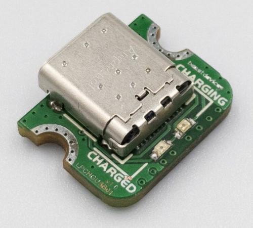 Conector LiPo USB-C miniaturizado para carga de baterías