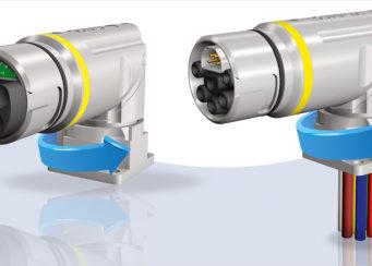 Sistema de conexión híbrida con diseño compacto y robusto