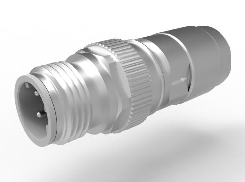 Conectores de cable M12-Mini A, B y D con prensaestopas