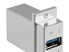 Acopladores de montaje en panel ECF para USB 3.0