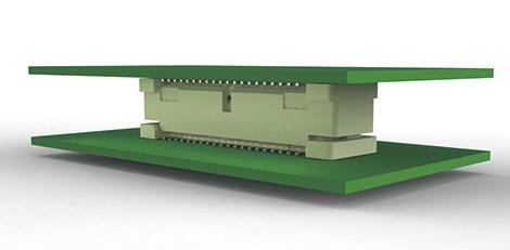 Conectores aplicados de tarjeta a tarjeta para COM Express de hasta 16 GT/s