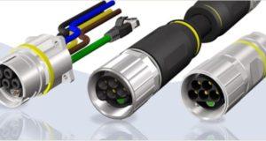 Conectores híbridos circulares en B40