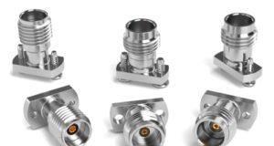 Conectores RF para PCB con montaje por compresión