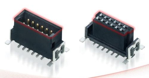Figura 1: Ejemplos de conectores robustos macho y hembra emparejados.