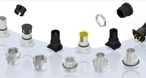 M12x1 Conectores THR de código-L para entornos de producción