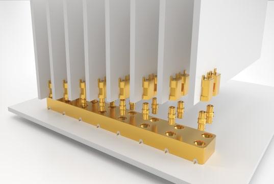 Conectores RF de precisión SMPM para alta frecuencia hasta 65 GHz