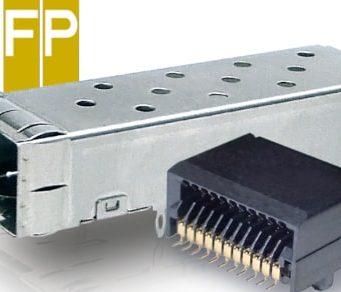 Conector host DSFP compatible con los estándares