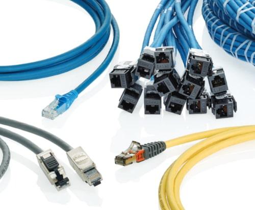 Cables preterminados de cobre Cat 6, Cat 6A, Cat 7 y Cat 8