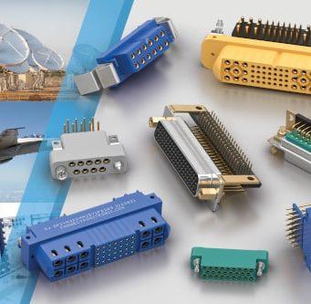 Conectores Sub-D para entornos industriales, sanidad y proyectos militares