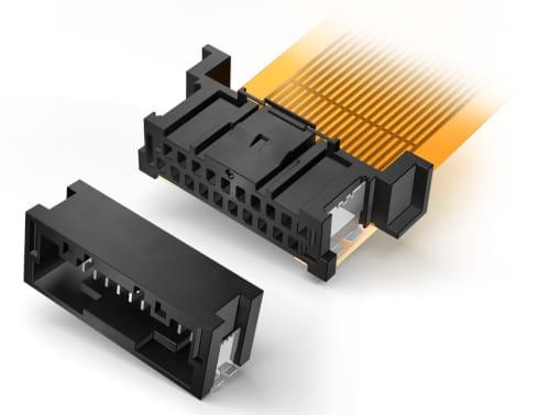 Conector de doble fila CF2 para la industria automotriz