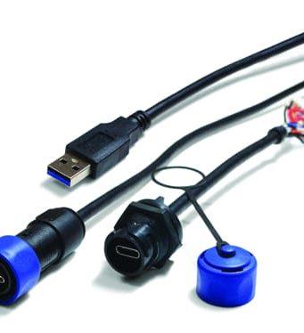 Conectores USB-C rugerizados Buccaneer
