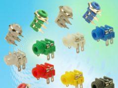Conectores para entradas hembra de 3,5 mm con codificación por colores