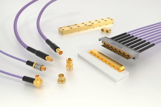 Soluciones SMPM de cable a placa y de placa a placa